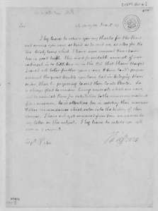 Thomas Jefferson letter to Zebulon Pike